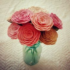10 hand crafted felt roses by handmade colectibles