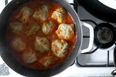 Sunday Dinner: stuffed cabbage in tomato sauce by smitten