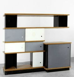 :: Storage Unit, Manufactured by Galerie Steph Simon France, c.1950  ::