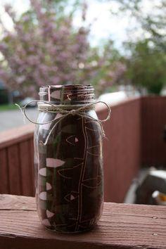 fabric ball jar