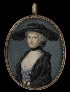 Margaret Woffington, approx. 1760, Nathaniel Hone