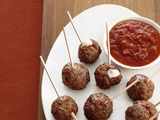 These meatballs work as an app or over pasta...freeze great too!