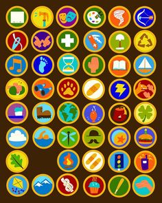 Wilderness Explorer badges.