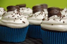 Flourless Chocolate Cupcakes.  Gluten free, and apparently perfect for passover (no flour, leavening or dairy).