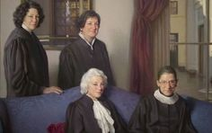 The four female Supreme Court justices