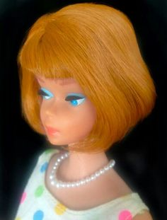 A beautiful American Girl Barbie from the collection of Gerry Borg.