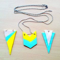 Make easy DIY jewelry with polymer clay! A step-by-step tutorial.