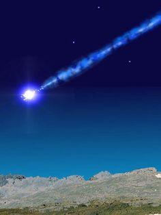 Meteorite! Don't miss the meteor showers all around our starlit dark skies... www.arizonasunshinetours.com AWESOME!