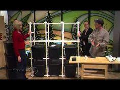 PVC Bin Storage Organizer