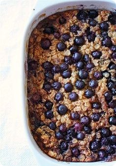 almond milk, baked oatmeal, healthy blueberries recipes, oatmeal bake breakfast, bake blueberri, blueberri oatmeal, baked blueberry oatmeal, bake oatmeal, oatmeal recipes