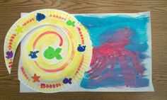 Craft for Book, A House for Hermit Crab by Eric Carle (from Thrive After Three)