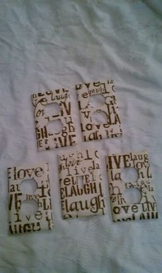 LiVe LaUgH LoVe outlet covers.. LOVE IT!