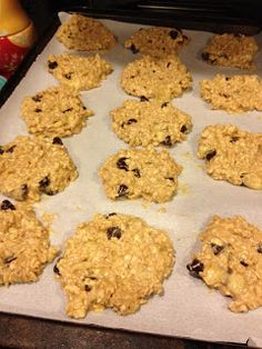 Breakfast Cookies for Under 100 Calories - no white flour, no white sugar, no oil, no eggs, just whole grain goodness!