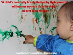I love this picture and quote! Do you encourage creativity in your classroom?  http://www.teachertreasurehunter.blogspot.com