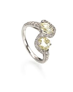 """Rough diamond ring from the """"Champagne Bubbles"""" collection by Diamond in the Rough. $9,000.00"""