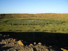Wolfe Creek Crater: A Natural Garden inside a Meteorite Crater - Neatorama