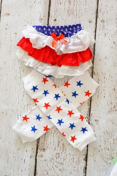 Outfit Of Choice For Babies | of July Baby Outfit - 4th of July Leg warmer and Bloomer set - Baby ...