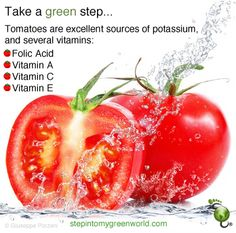 The deep red glow of tomatoes means antioxidants. Cook lightly to get more of the benefits.