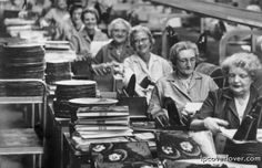 Packaging Rubber Soul to ship in 1965.