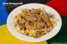Beef-Stroganoff