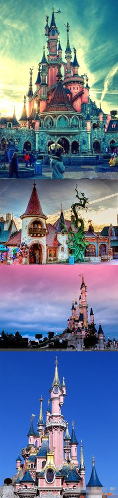 Disney-want to go to all of these