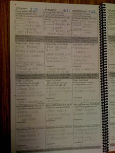 This is a great guest blog post with lots of very cool tips for an organized elementary classroom; here is her customized plan book for example