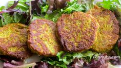 Lentil-Zucchini Pancakes is a family favorite to pack for lunch. #vegetarian