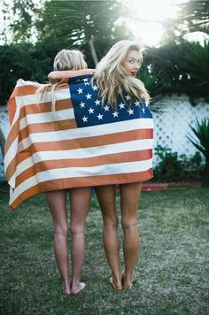 flag, 4th of july friends, american beauty, senior photos, summer pictures