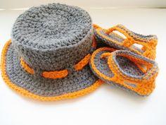 crochet flip flops free pattern   Trekkers for Baby Boys, Flip Flop Sandals - Media - Crochet Me