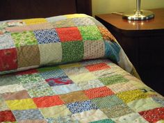 Charming Patchwork Quilt