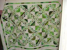 Jean's Green Quilt