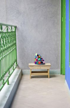 painted wrought iron