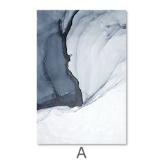 Give any open wall in your home a tasteful touch of glamour with this painting print. This canvas showcases blue tones over a white background.  Canvas Prints Canvas prints are a fun and easy way to add a personal touch to your living space. Shop our unstretched canvas prints for local custom framing. This allows you t