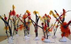 make a tree with preschoolers - Google Search