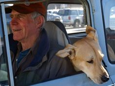 man and dog,by Emilia Doak