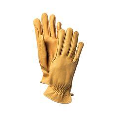 Deerskin Riding Gloves Golden Yellow