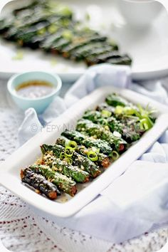 Vietnamese Grilled Beef in Wild Betel Leaf (Bò Nướng Lá Lốt).  Another Vietnamese recipe from Indonesia Eats kitchen that is very addictive :)