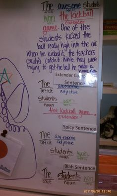 Mrs. Norton's Whole Brain Teaching Journey: Genius Ladder & Oral Writing