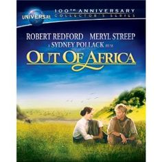 Universal 100th Anniversary Collector's Series: Out of Africa  now available on Blu-ray Combo Pack http://amzn.to/wLbgXS