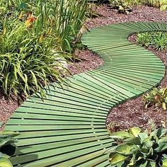 Attractive and easy-to-install walkway for your yard or garden.