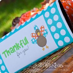 Really cute Thanksgiving printables