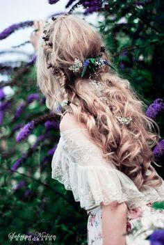 Bohemian Wedding hair style
