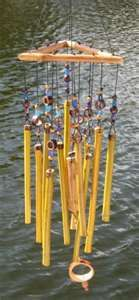 One of the special attributes of Bamboo Wind Chimes is their unique ...