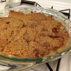 Paleo Apple Crisp and 20 Paleo Dessert Recipes - MyNaturalFamily.com #paleo #dessert #recipes