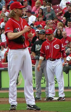 Bronson Arroyo & Joey Votto (Another photo by the talented @Kristine!) ... #Cincinnati #Reds #Boston #RedSox #MLB
