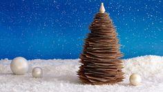 Make a Sandpaper Square Christmas Tree