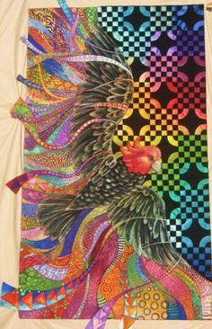 Freedom quilt by Helen Godden