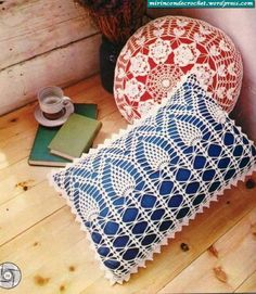 Pillow Covers #crochet