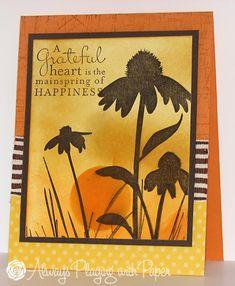 stamp, card idea, paper lovin, challeng, paper crafts