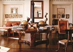New York apartment of Bill Blass